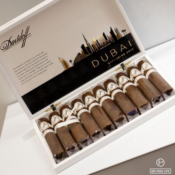 Mr Ping Life Cigar World Tour Exclusive Davidoff Dubai