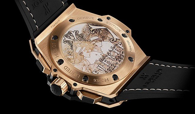 Hublot King Power Arturo Fuente back Dubai 40/200
